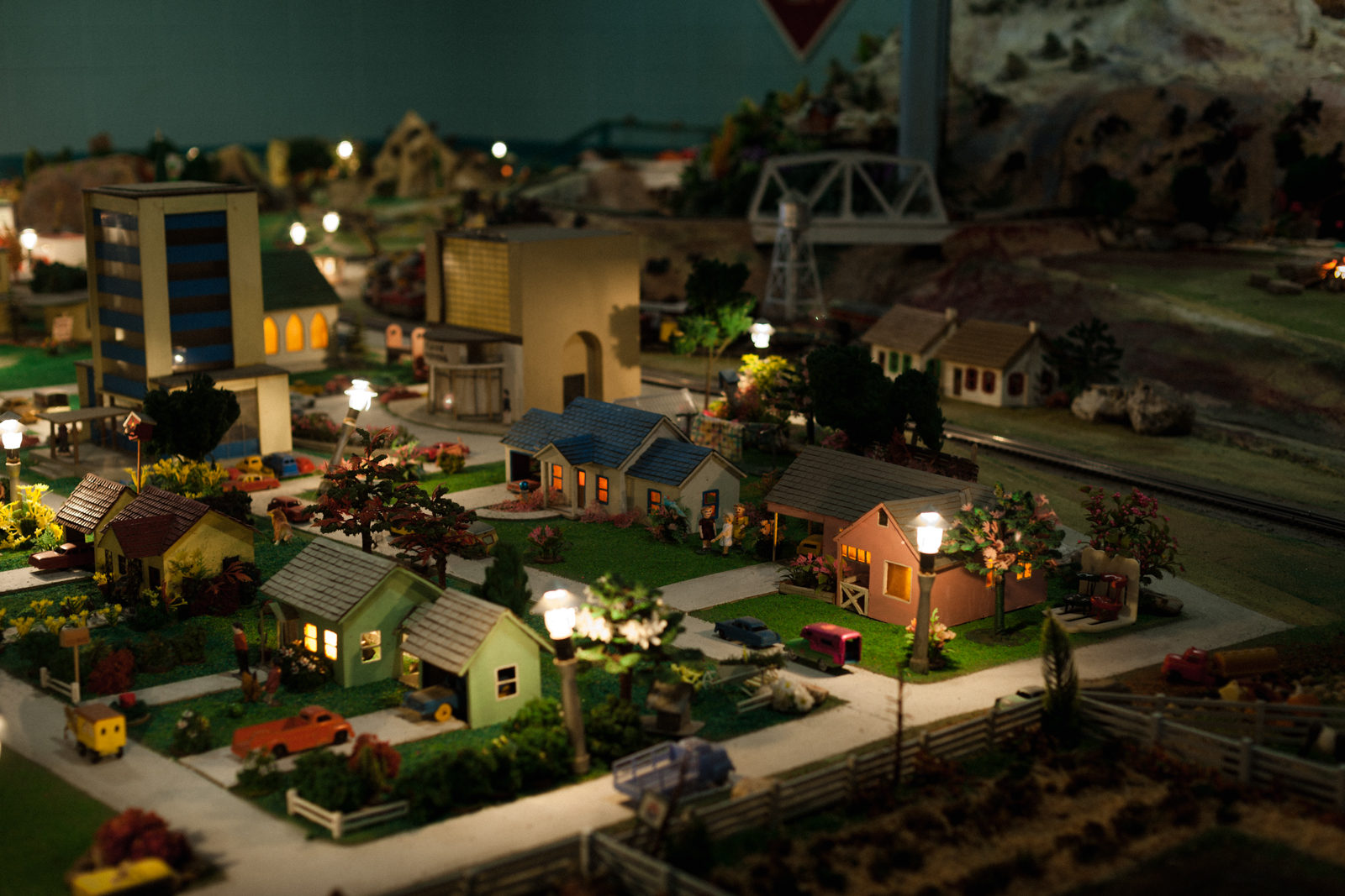 tiny town trains night-1