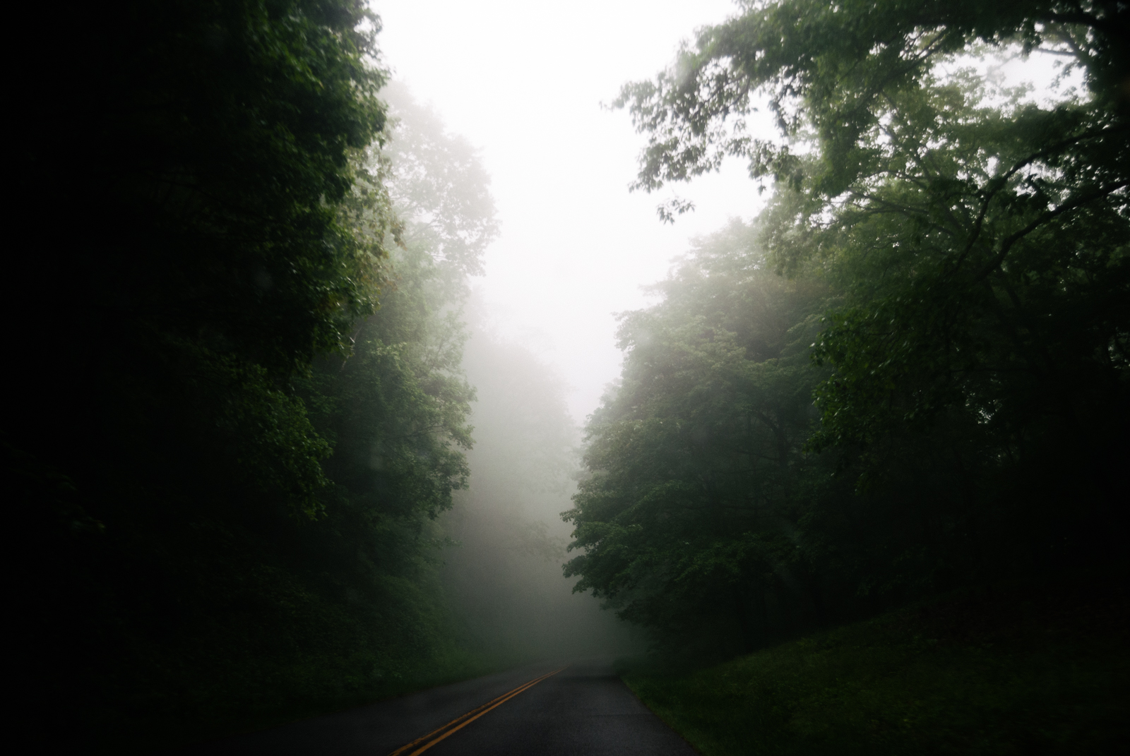 blue ridge highway fog-1